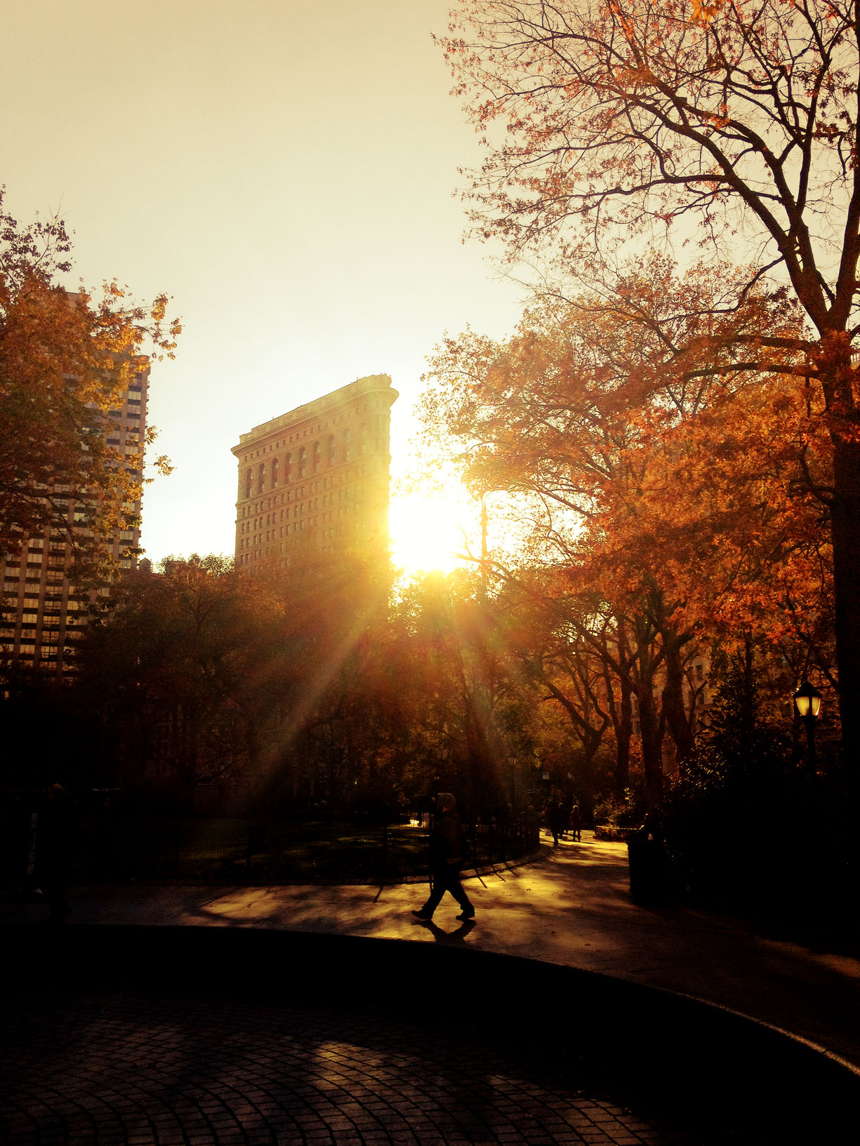 Fall Sunset - New York City